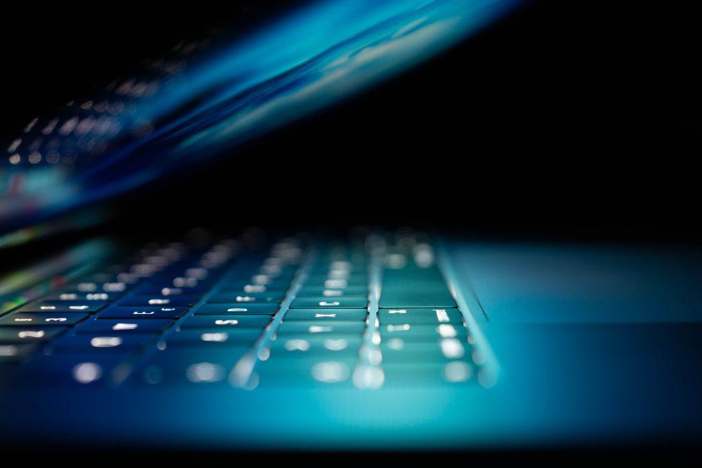 laptop glow
